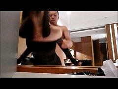 สาววัยรุ่นจีนเย็ดกับแฟนหนุ่มโดนปล่อยคลิปว่อนเน็ตหีใหญ่ซอยหีเน้น โดนนิ้วตกเบ็ดน้ำเงี่ยนเเตกพุงกระจายเงี่ยนจัดเสียวหีสุดๆxxx